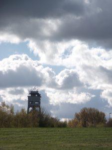 Der Signalturm - heute im Besitz der Spar und Bau